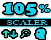 105% Scaler Head Resizer