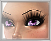 <3 Purple Glow Eyes