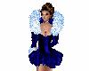 Royal Blue Skate Dress