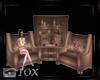 Swan arm chair set