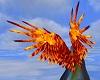 Fire Demon Wings