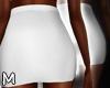 ✏White Pencil Skirt