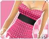 *B*Polkaz Top Pink