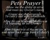 Pet's Prayer WallHanger