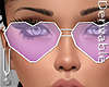 -V- Hearts Glasses