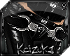 !Handcuffs Leather Belt