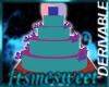 Derv. Wed/Birthday Cake