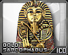 ICO Gold Sarcophagus