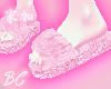 Glitter n Fluff slippers