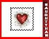 (N) Heart-11 Stamp