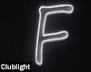 Letter F | Neon
