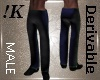 !K! Mens Straight Pants