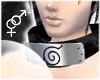 !T Konoha neckband-Black
