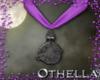 Witch Pendant - Purple