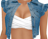 Girly Denim Vest