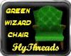 Green Wizard Chair