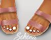 ṩ Brea Sandals Blush
