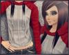 w| baller hoodie | red