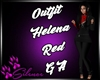 Outfit Helena Red GA