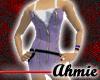 Zippered Dress - Purple