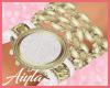 F/M gold watch/bracelets