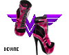 Harley Boots Pink
