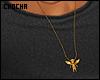 #GoldenAngel-necklace.
