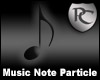 Music Note Particle