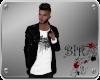 [BIR]Leather Coat*Skull