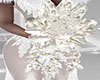Snowy Bridal Bouquet