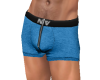 NV Zip Boxer Blue