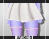 White Skirt | Pink