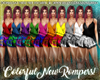 !10 Colorful Rompers