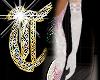 *T* Pale Rose Gloves