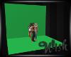 {wish} Green Backdrop