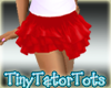 Little Girls Red Skirt