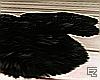 ϟ Grey Fur Rug