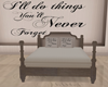 Never Forger ~bed~