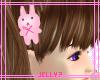 Jelly? Bunny pin