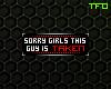 FC; Sorry Girls Badge