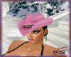 SC  HAT COWGIRL PINK
