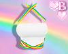 *B Rainbow Strappy 2