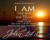 I Am Way Jesus - Easel