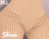 $ Knit Pants Beige RLL
