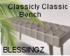 Classicly Classic Bench