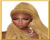 Golden Queen Hooped Hair