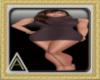 (AL)Oii Dress Brown