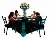 [SD] TEAL DINNER TABLE