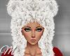 m: Bear Hat White