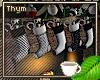 5 Hanging Stockings